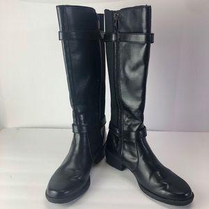 Anne Klein AKLissa knees boots women's 6M